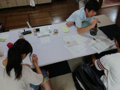 【最終回 高校受験対策教室/自習教室】活動報告 with たま