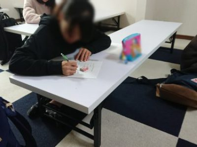 【第1回 冬季高校受験対策教室/自習教室】活動報告 with たま
