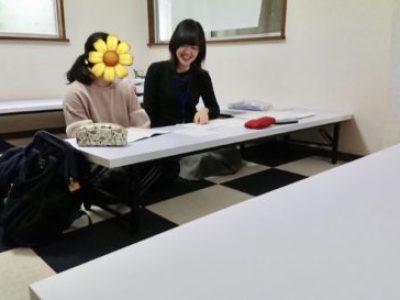 【第7回 冬季高校受験対策教室】活動報告 with いっちゃん