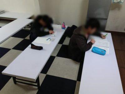【第12回 冬季高校受験対策教室】活動報告 with たま