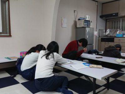 【最終回 冬季高校受験対策教室】活動報告 with たま